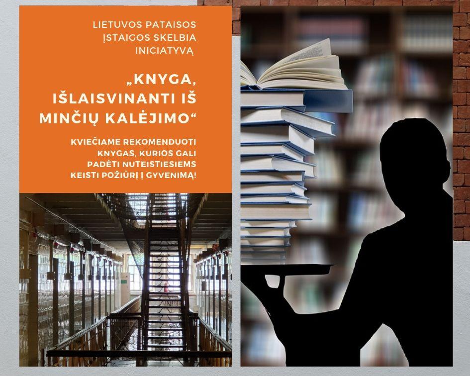 """""""Knyga, išlaisvinanti iš minčių kalėjimo"""""""
