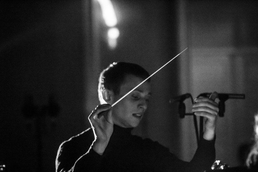 Dirigentas Karolis Variakojis. Fotografas - Kristijonas Dirsė