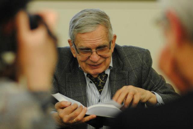Tomas Venclova. Benedikto Januševičiaus nuotrauka