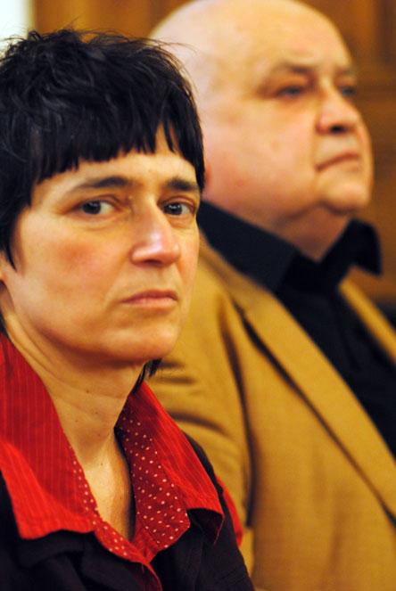 Ana Gerasimova ir Gintaras Patackas. Benedikto Januševičiaus nuotrauka