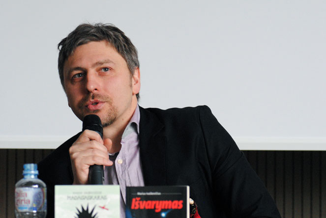 Marius Ivaškevičius. Benedikto Januševičiaus nuotrauka