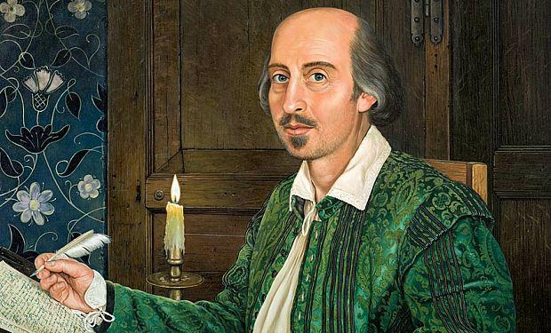 Geoffrey Tristramo tapytas Šekspyro portretas