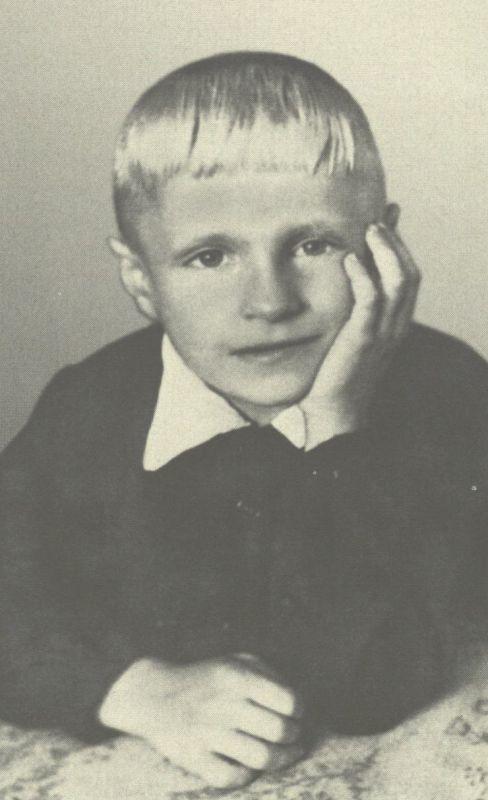 Pirmoji Broniaus Radzevičiaus nuorauka (1945). Iš G.  Radzevičienės archyvo