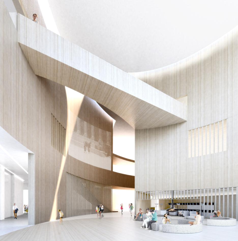 Lahdelma & Mahlamäki Architects (Suomija) projektas