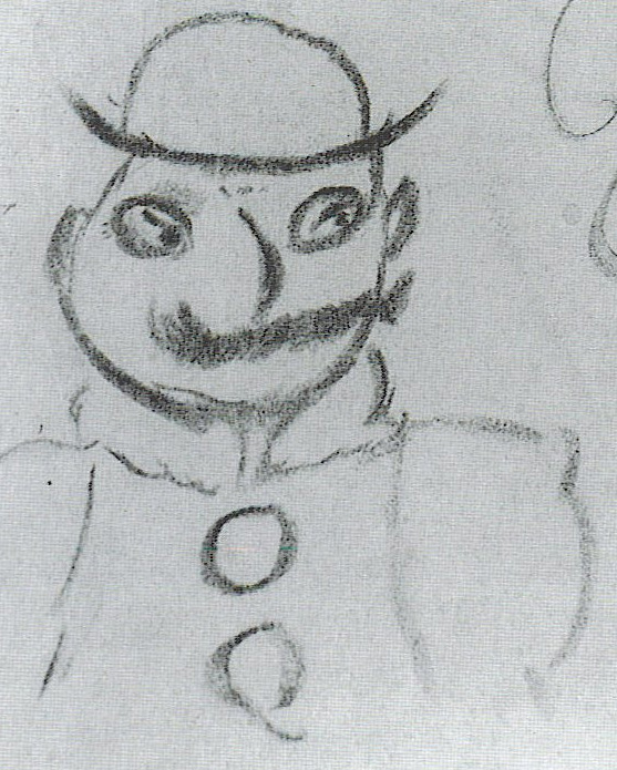 Jameso Joyce'o pieštas Leopoldas Blumas
