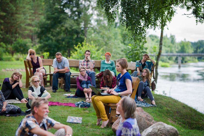 Literatūros salos 2013. Ritos Gudėnaitės-Špokauskienės fotoaparato nuotrauka