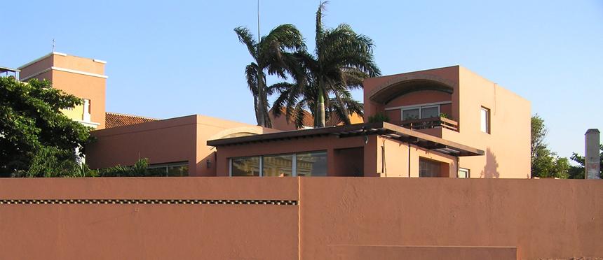 Gabrielio Garcíos Márquezo namas Indijos Kartachenoje (Kolumbija). Kornelijaus Platelio nuotrauka