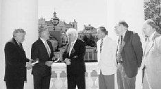 Svečias pas LR Prezidentą Valdą Adamkų Džojos Barysaitės nuotrauka