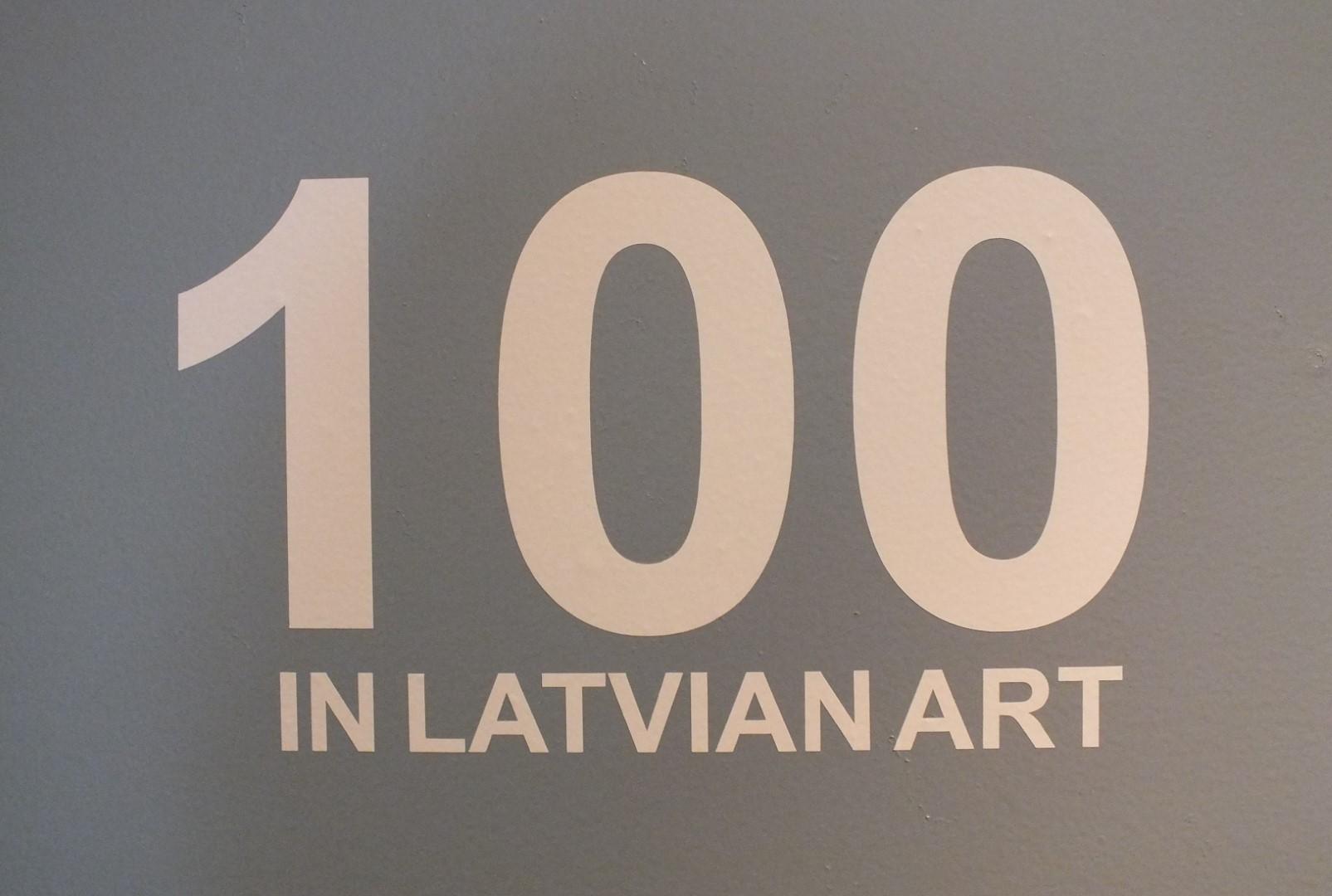 100 Latvijos mene