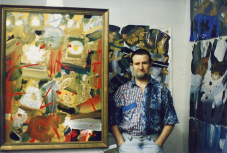 Vladislovas Žilius 1996 metais. Nuotrauka iš Aldonos Žilienės asmeninio archyvo