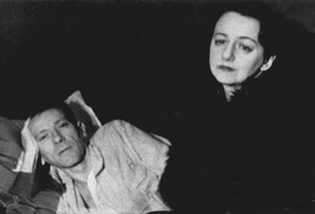 Jelena ir Michailas Bulgakovai. Paskutinė nuotrauka, 1940 m. vasaris