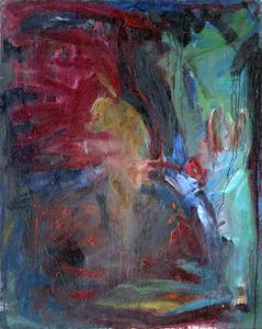 """Inga Paliokaitė """"Tėvo portretas"""" Drobė, aliejus, 112 x 90,5"""