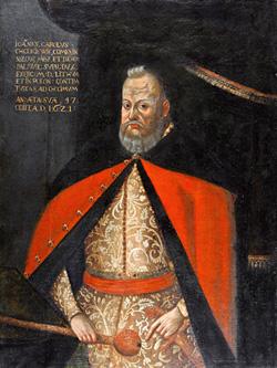 Nežinomas XVII a. I p. dailininkas. Lietuvos didžiojo etmono ir Vilniaus vaivados Jono Karolio Chodkevičiaus (1560–1621) portretas