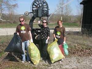 """Akcija """"Očistimo Slovenijo"""" – lietuviškos akcijos """"Darom"""" tęsėja"""