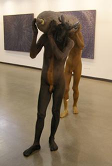 """Krishna Murari. """"Nešantis gyvenimą"""". 2011. Galerija """"21"""", Ryga (Latvija)."""