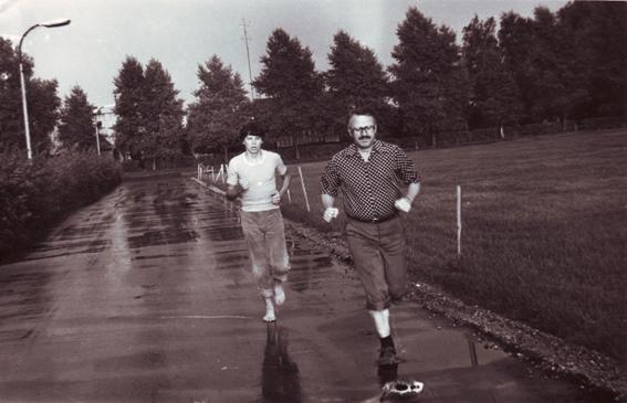 1979 rugpjuti Ignalinos stadione su sunumi Tomu
