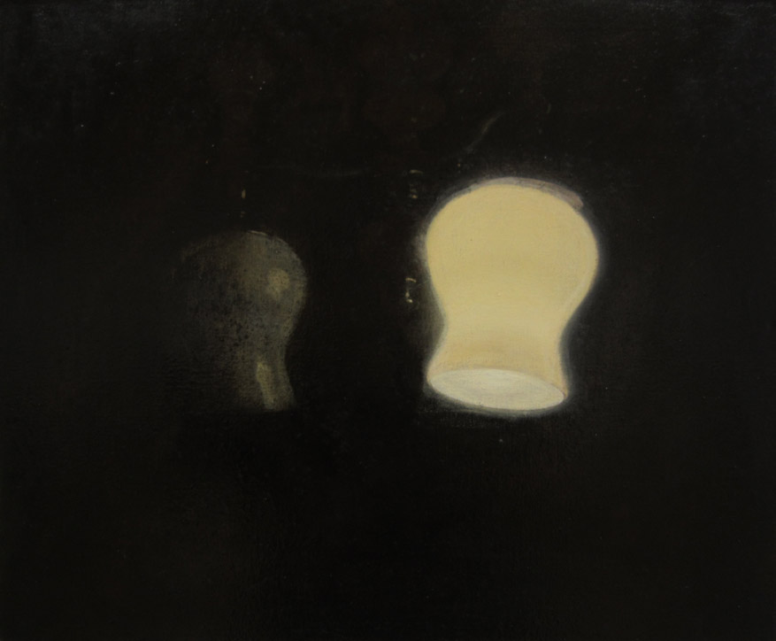 """Rosanda Sorakaitė. Iš serijos """"Kasdienybės paviršiai"""", aliejus, lakas, drobė. 60x50 cm. 2012"""