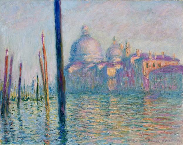 """Claude Monet. """"Didysis kanalas"""". 1908"""