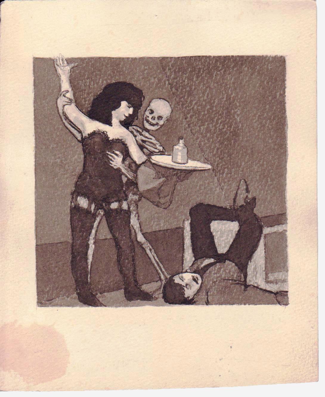 Jono Rustemo piešinys