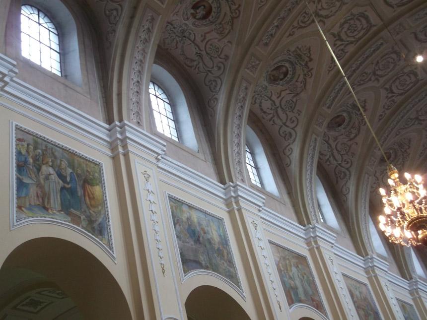 Turgelių bažnyčios sieninė tapyba