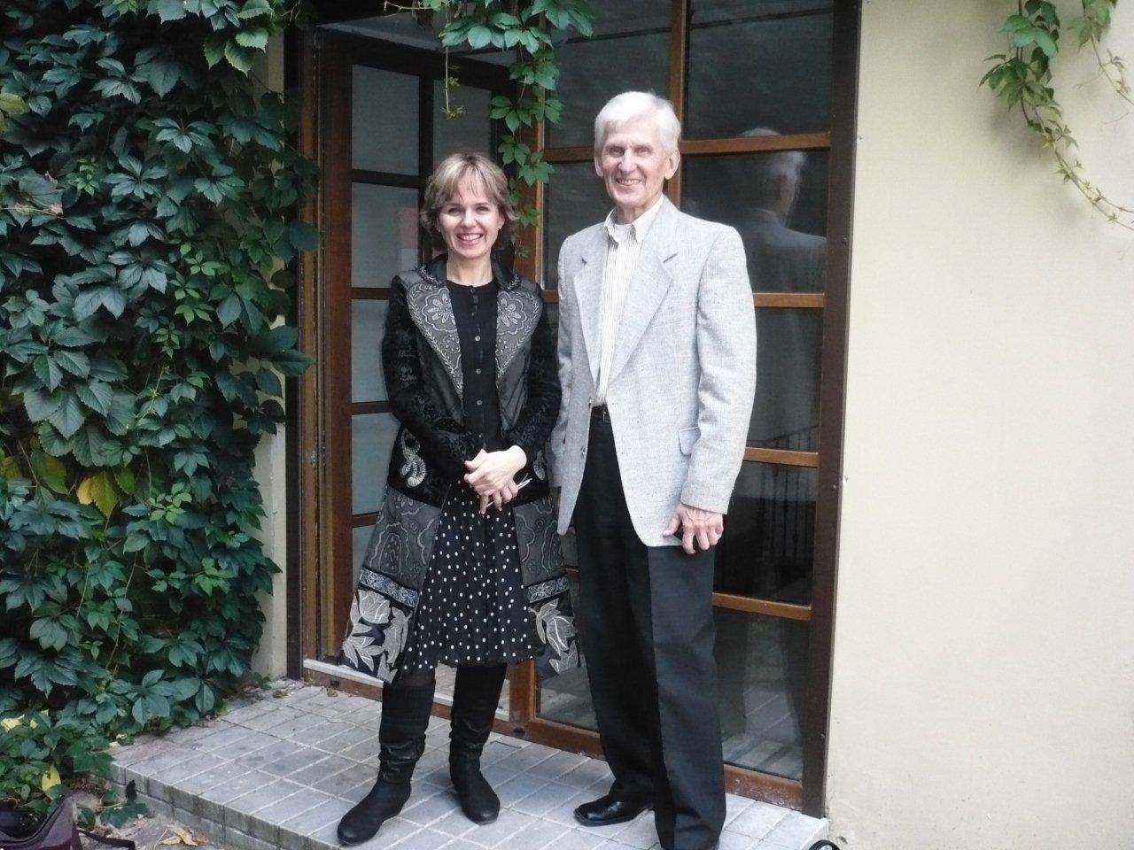 Rusnė Mataitytė ir Petras Kunca. Asmeninio archyvo nuotrauka