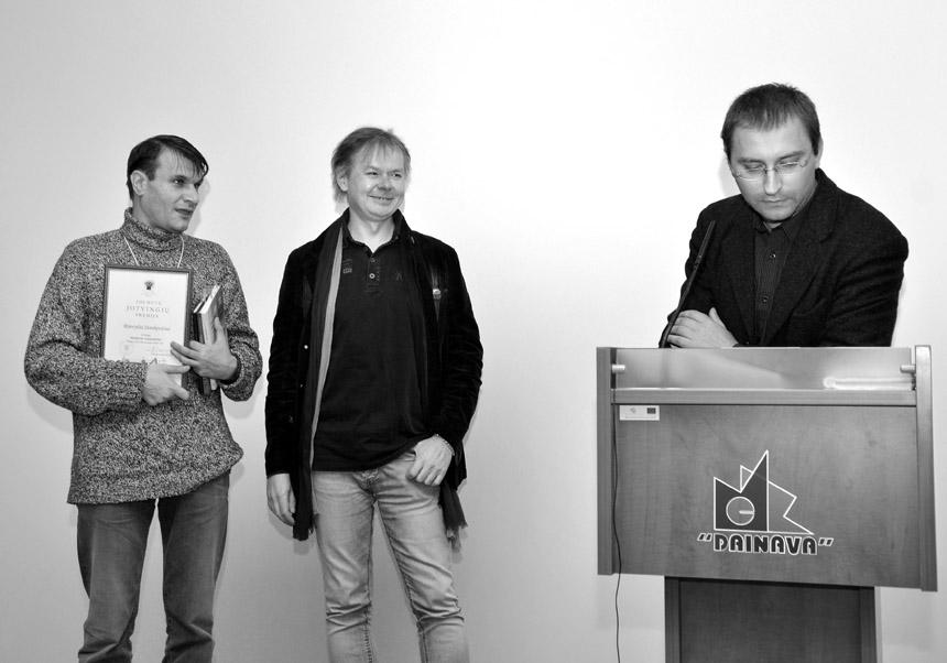 Rimvydas Stankevičius, Kęstutis Navakas ir Donatas Petrošius. Gintaro Žilio nuotraukos
