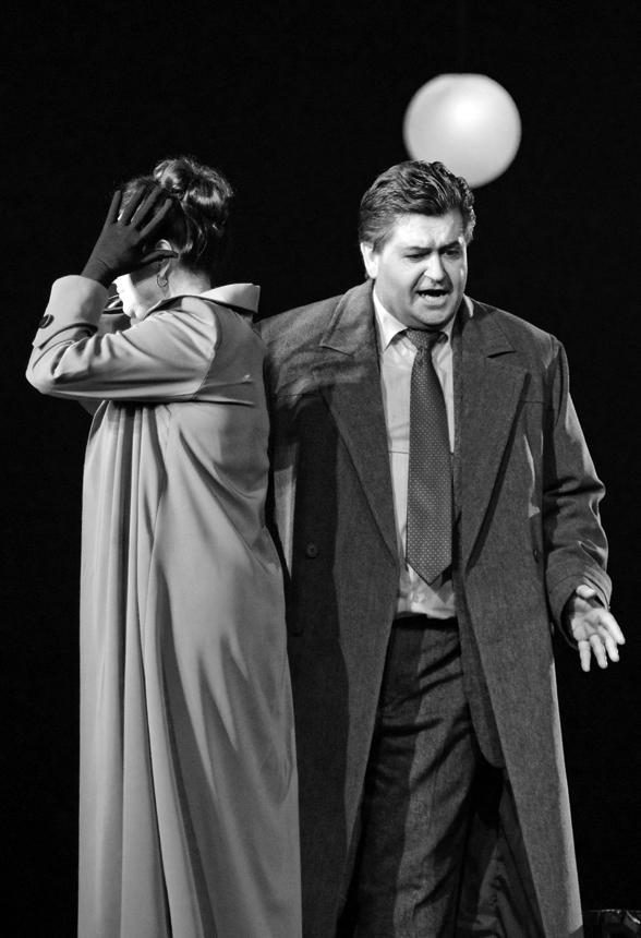 "Operos ""Eugenijus Oneginas"" scenos. Martyno Aleksos nuotraukos"