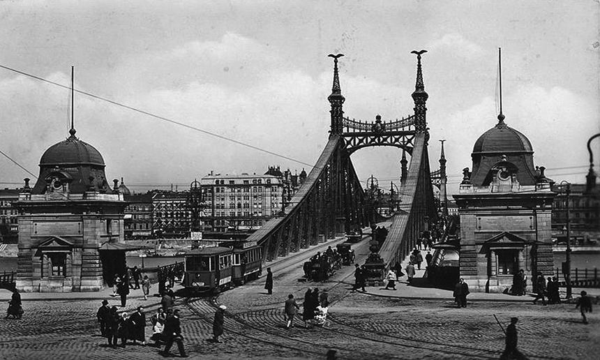 Budapeštas. XX a. pradžios atvirukas