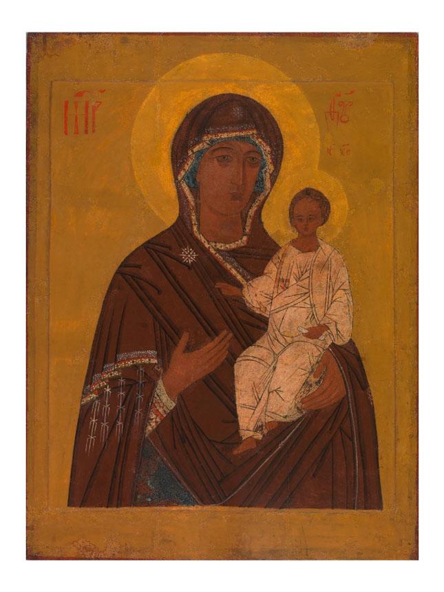 Lukiškių Dievo Motinos ikona po restauravimo