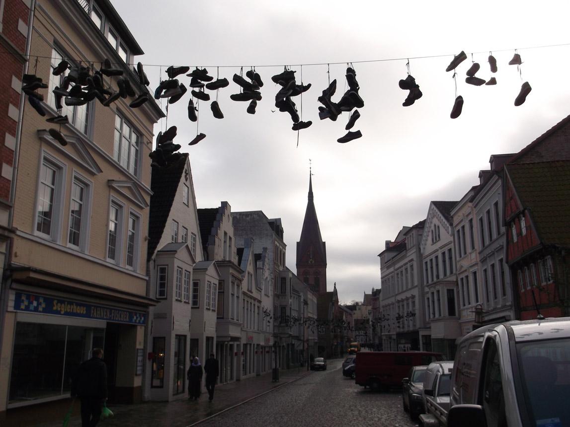 Flensburgo gatvelė. Astridos Petraitytės nuotraukos