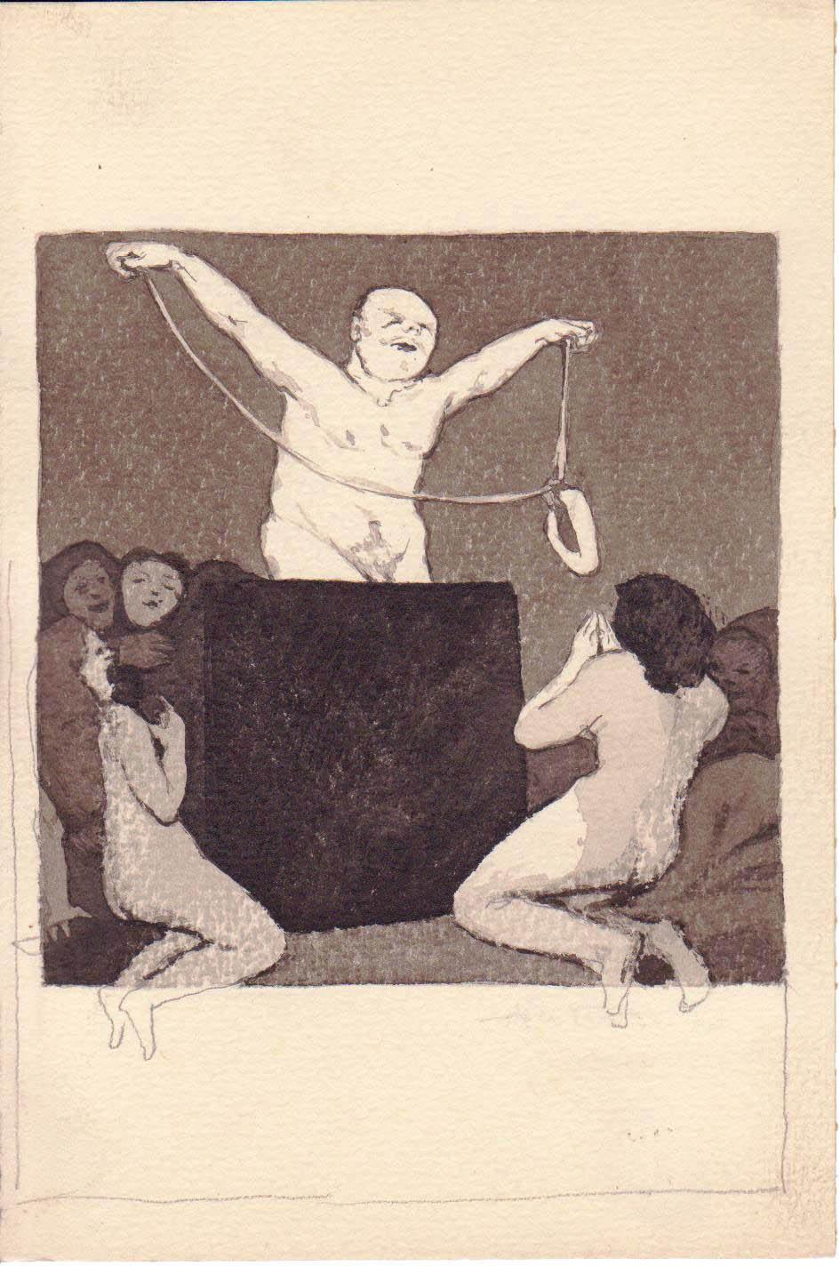 Jono Rustemo piešiniai