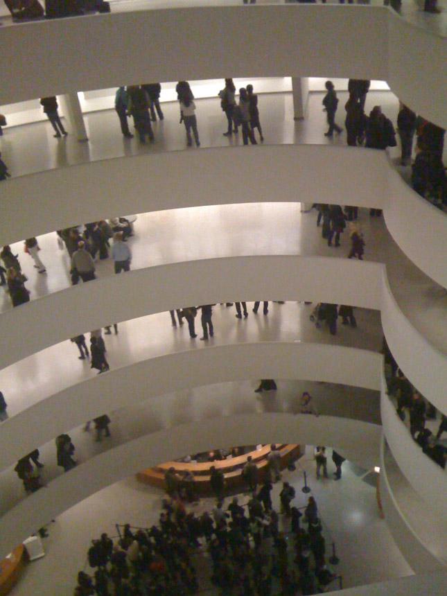 Gugenheimo muziejus. Autorės nuotraukos