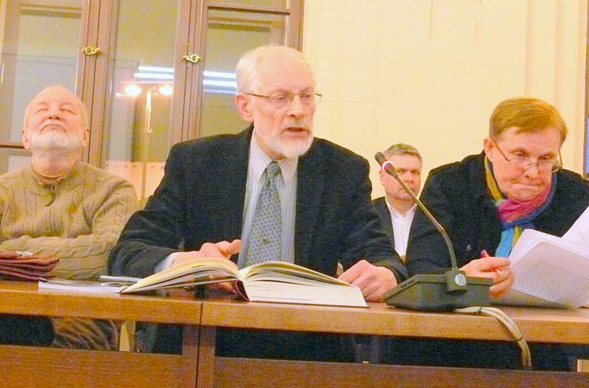 Kęstutis Nastopka, Vytautas Martinkus ir Viktorija Daujotytė. Vytauto Visocko nuotraukos