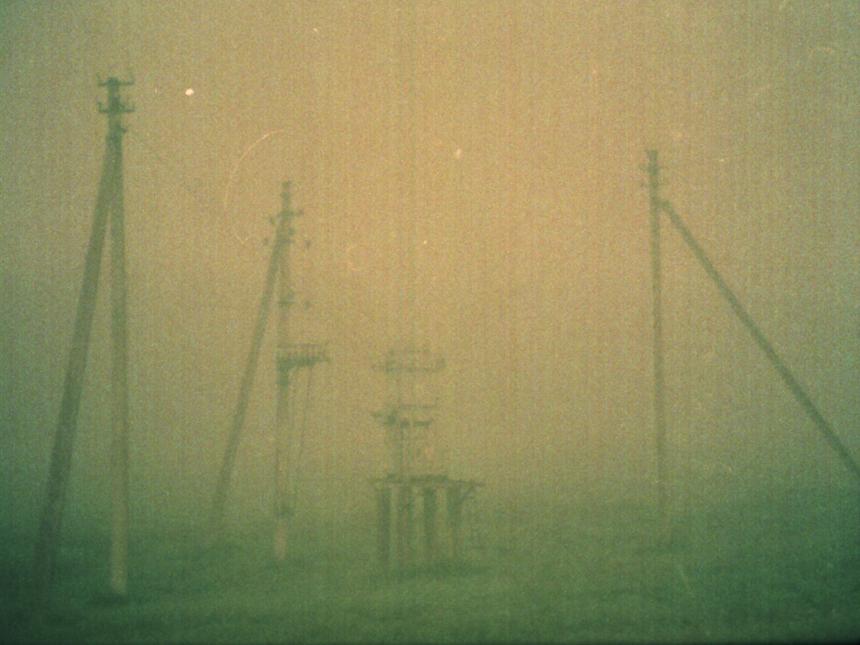 """Emilija Škarnulytė. 1, iš ciklo """"Dingusio miesto slėnis"""", 2011, fotografija, 30 x 30, tiražas iš 8, 1/8."""