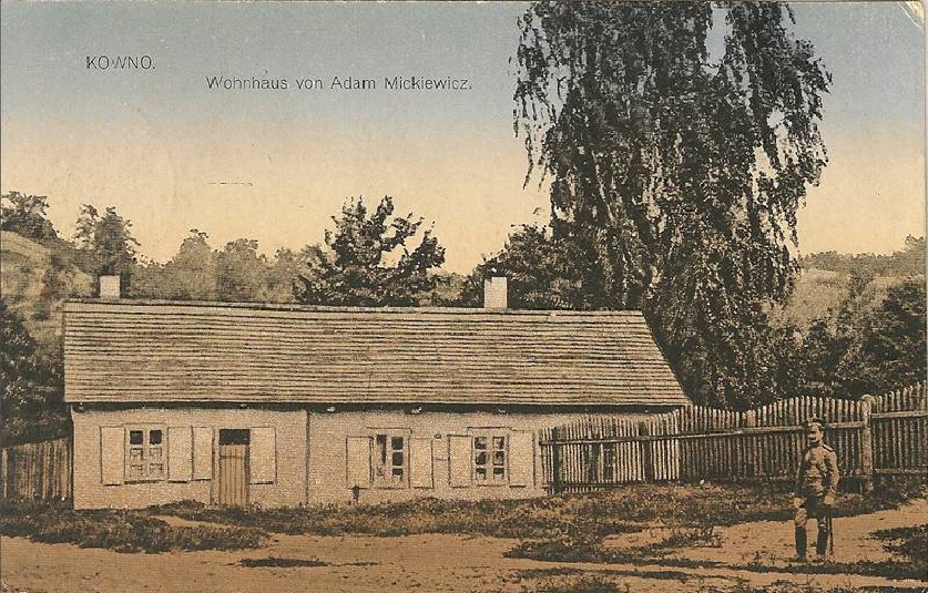 Adomo Mickevičiaus namelis, Kaune. XX a. pradžia
