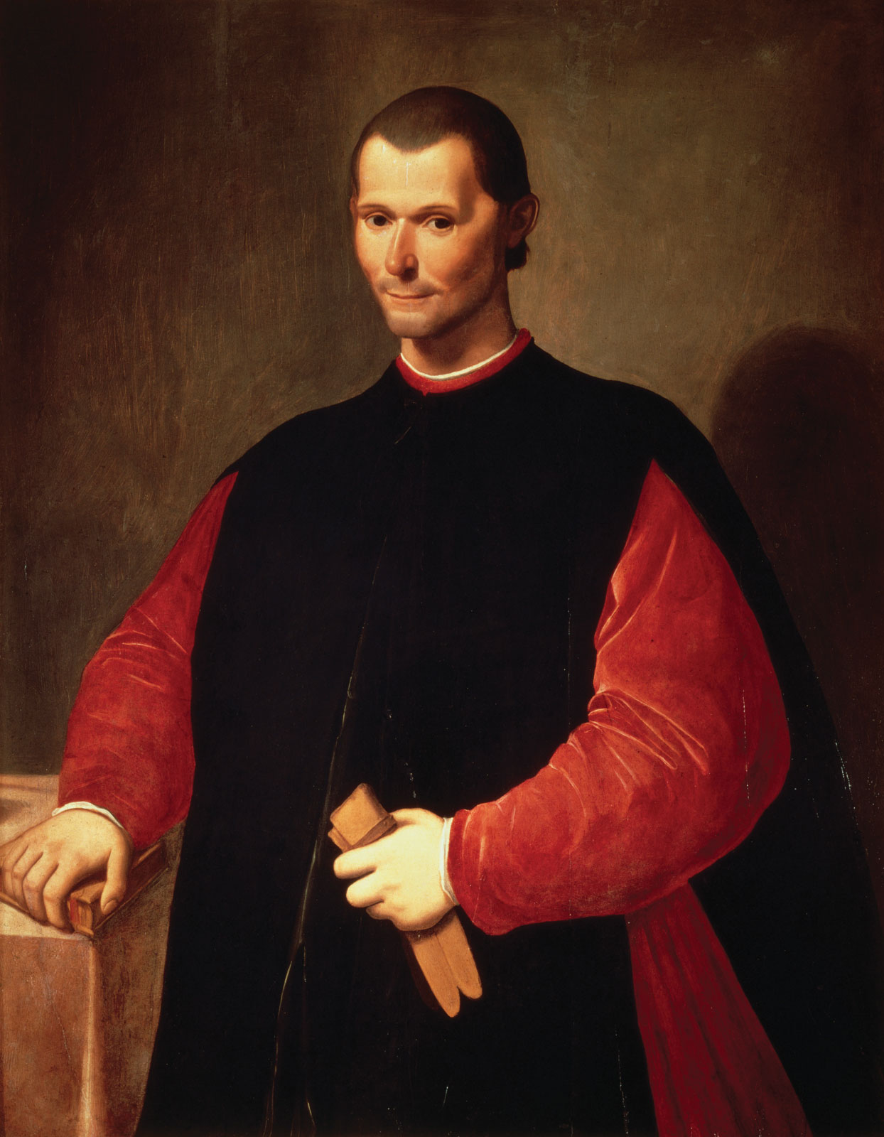 Santi di Tito. Niccolò Machiavelli'o portretas. XVI a. II pusė