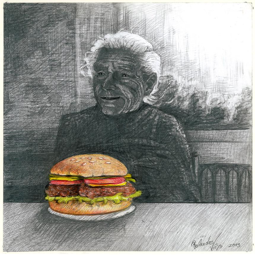Viršelyje – Rolandas Vičys. (XXXVII Lietuvos karikatūrų paroda. www.humorsapiens.lt)