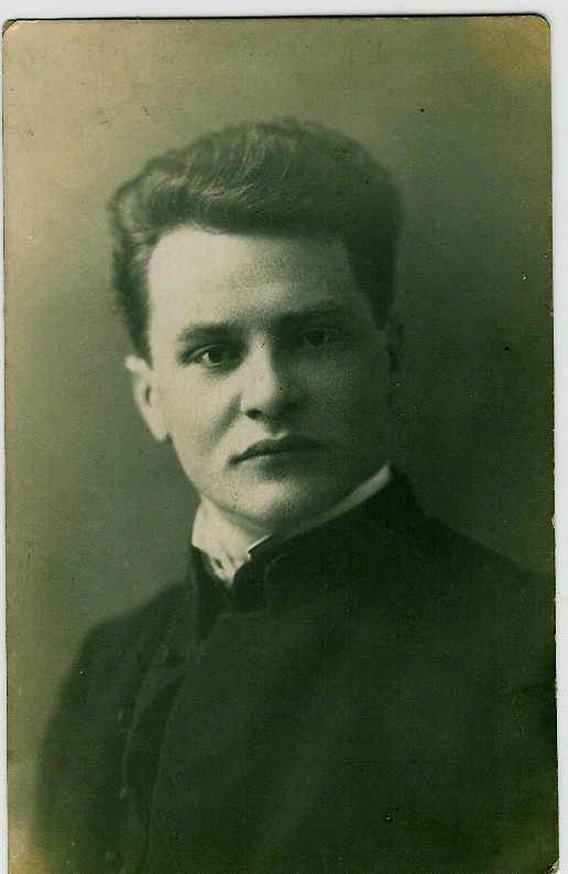A. Janonis Naujamiestyje, 1923 04 16