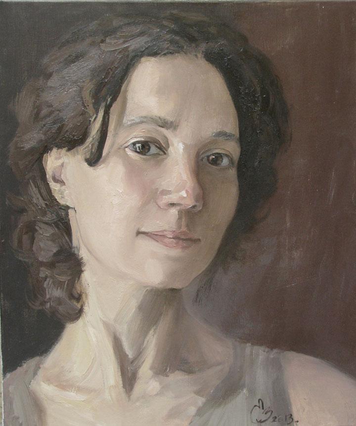 Elena Griščenko. Autoportretas