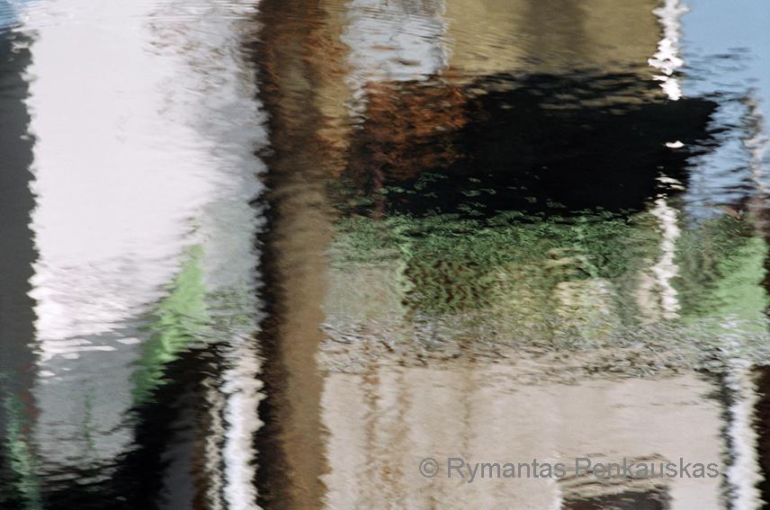 "Rymantas Penkauskas. ""Vandens fantazija II"" iš serijos ""Vandenyje"""