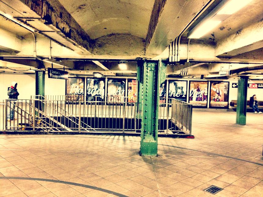 """Žibuoklė Martinaitytė. """"Niujorko metro""""."""