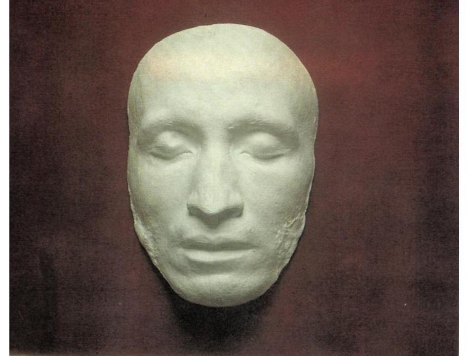 A. Puškino pomirtinė kaukė