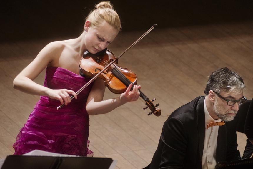 Dalia Kuznecovaitė ir Petras Geniušas. Dmitrijaus Matvejevo nuotrauka