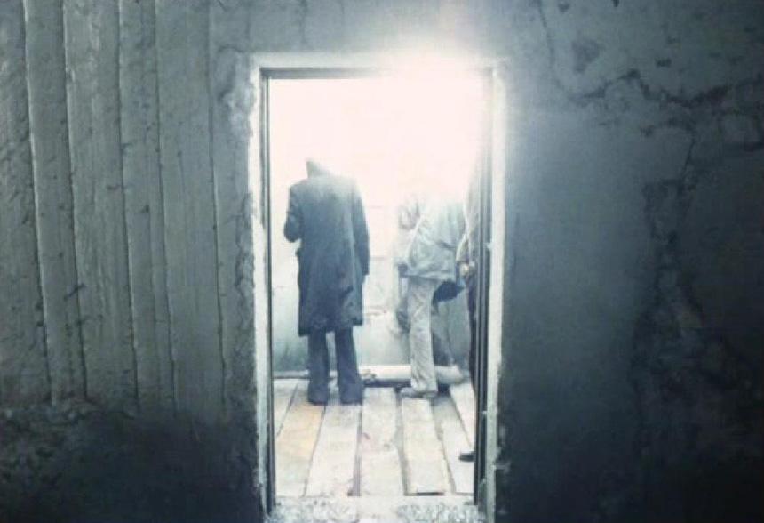 """Filmo """"Stalkeris"""" (rež. Andrejus Tarkovskis, 1979) kadras"""