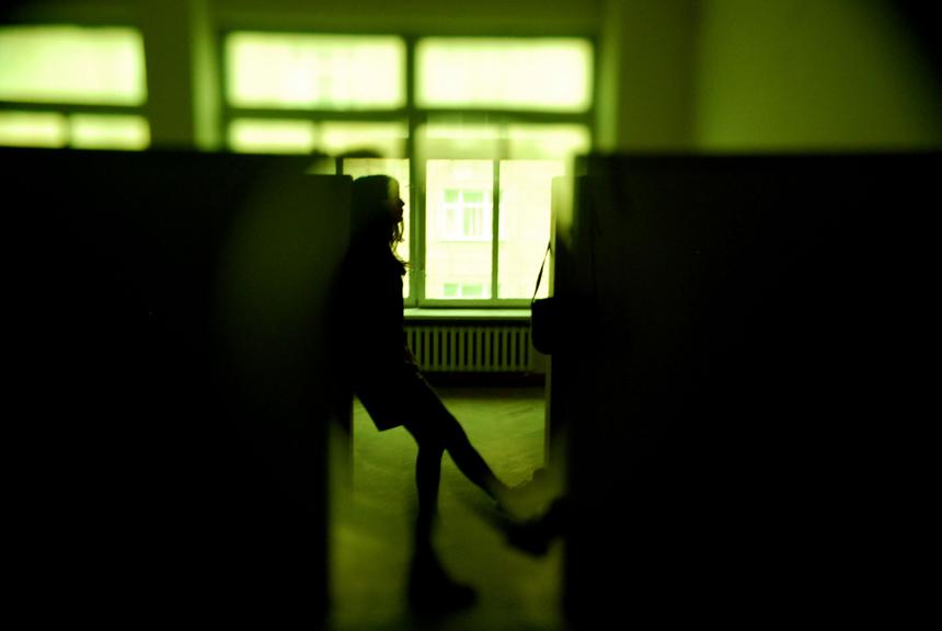 """Brigita Kazlauskaitė. Iš ciklo """"Aklas optimizmas"""" (2010)"""
