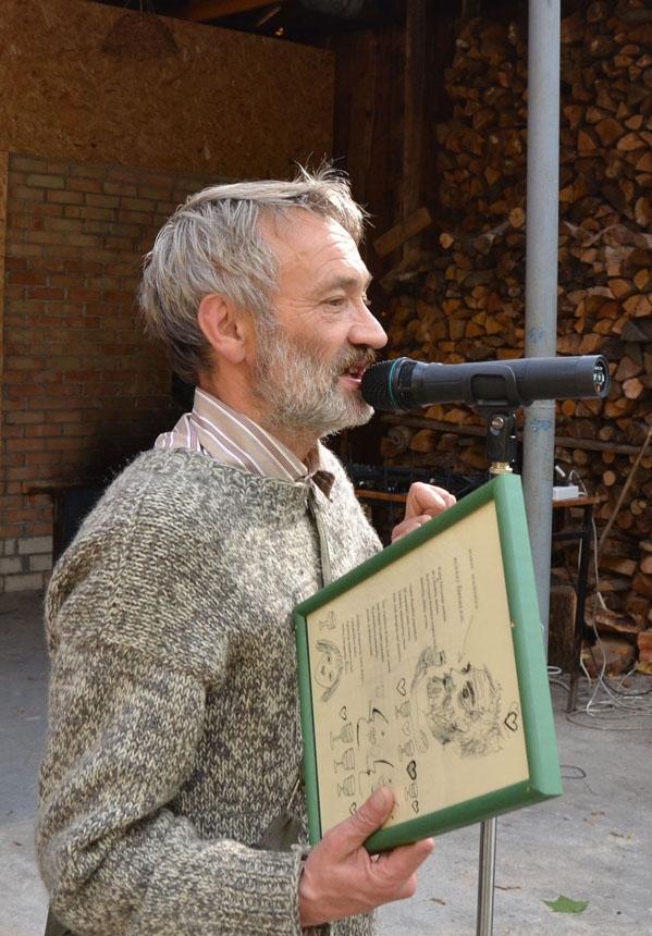 Stasys Stacevičius 2012-ųjų Poetiniame Druskininkų rudenyje