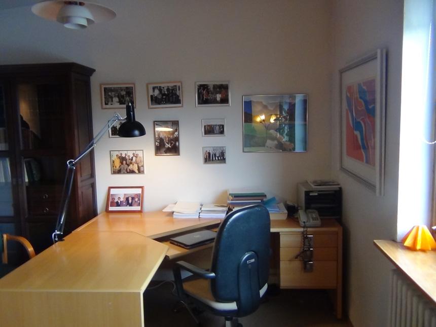 Gunnaro Gunnarssono darbo kambarys. Tomo Kavaliausko nuotrauka