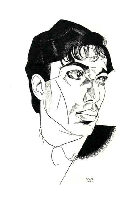 Jurijaus Anenkovo piešinys