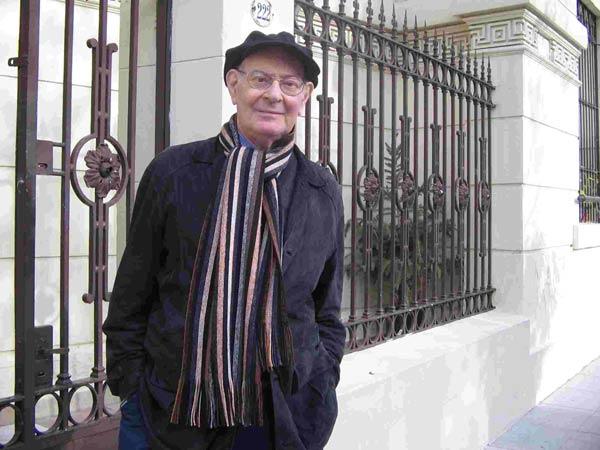 Kompozitorius Mauricio Kagelis. Nuotrauka iš Kolono teatro archyvo