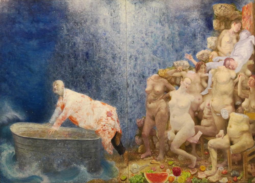 """Šarūnas Sauka. """"Priimamasis"""", 2008. Aido Šarausko nuotrauka"""